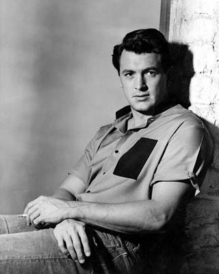 Rock Hudson, 1950s Poster by Everett