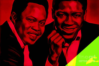Sam And Dave Collection Poster by Marvin Blaine