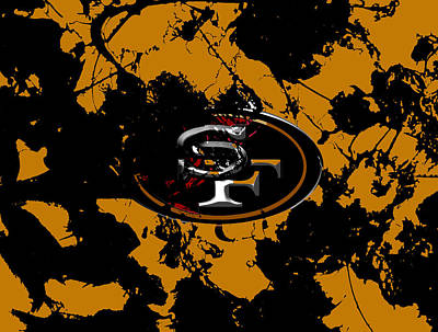 San Francisco 49ers  Poster by Brian Reaves