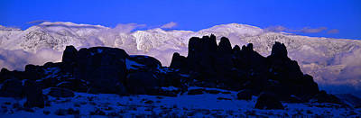 Sunset At Alabama Hills And Inyo Poster by Panoramic Images