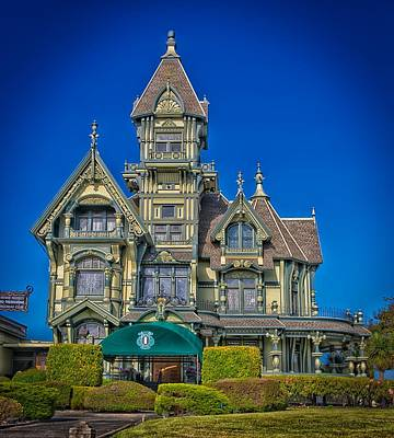 The Carson Mansion Poster by Mountain Dreams