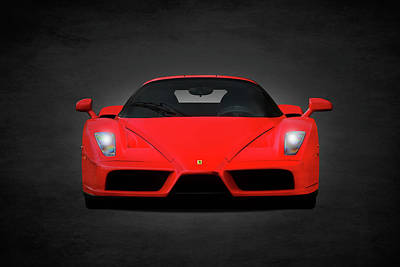 The Ferrari Enzo Poster by Mark Rogan