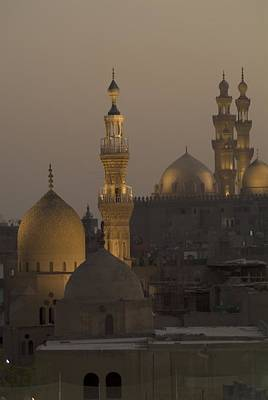 The Sultan Hassan And Rifai Mosques Poster by Richard Nowitz