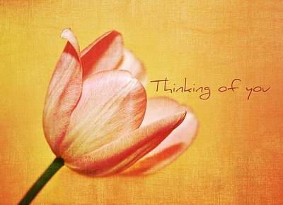 Thinking Of You Poster by Cathie Tyler