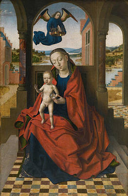 Virgin And Child Poster by Petrus Christus