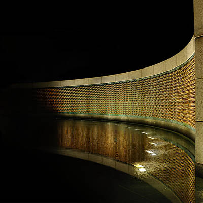 World War II Memorial - Stars Poster by Metro DC Photography