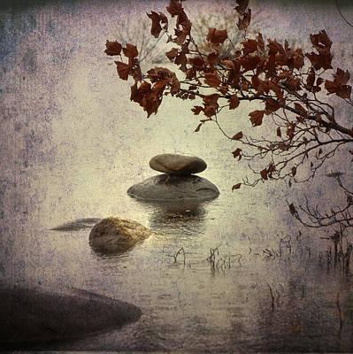 Zen Stones Poster by Joana Kruse