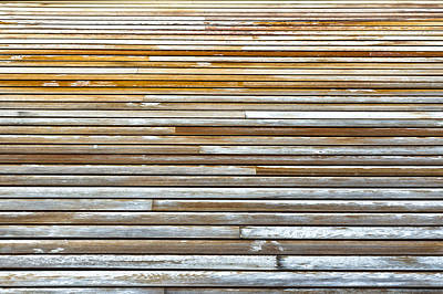 Wood Background Poster by Tom Gowanlock