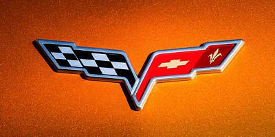 2007 Chevrolet Corvette Indy Pace Car -0301c Poster by Jill Reger