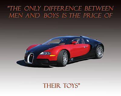 2010 Bugatti Veyron E B 16 4 Poster by Jack Pumphrey