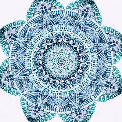 Mandala  Poster by Sandrine Kespi