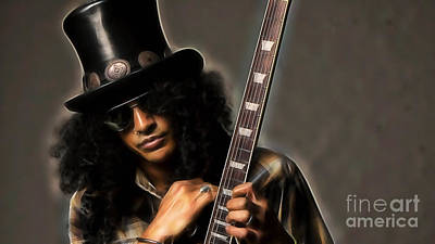 Slash Collection Poster by Marvin Blaine