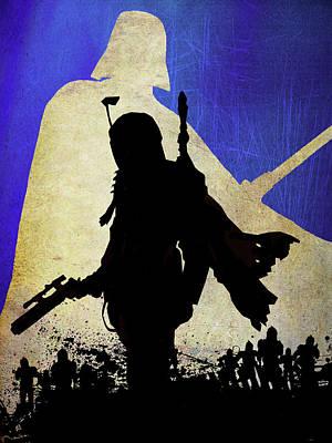 Star Wars. Poster by Elena Kosvincheva