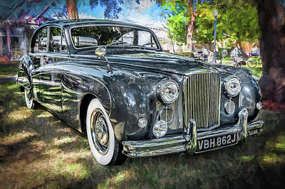 1961 Jaguar Mark Ix Saloon  Poster by Rich Franco