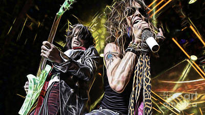Aerosmith Collection Poster by Marvin Blaine