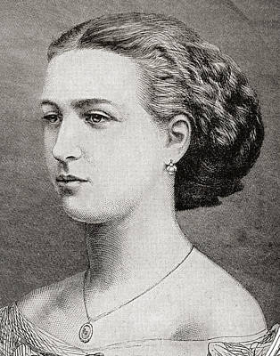 Alexandra Of Denmark, 1844 Poster by Vintage Design Pics