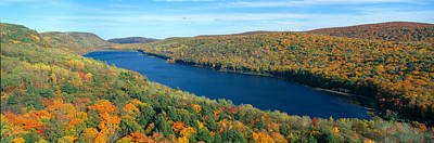 Autumn Color At Porcupine State Park Poster by Panoramic Images