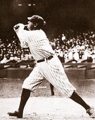 Babe Ruth Poster by American School
