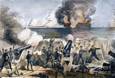 Civil War: Fort Sumter Poster by Granger