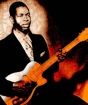 Elmore James Collection Poster by Marvin Blaine