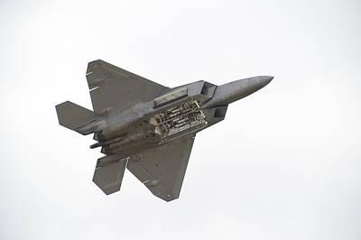 F-22 Raptor Poster by Sebastian Musial