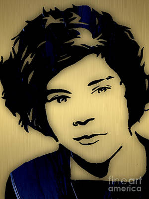 Harry Styles Collection Poster by Marvin Blaine