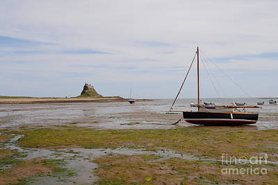 Holy Island Of Lindisfarne Poster by Stephen Smith