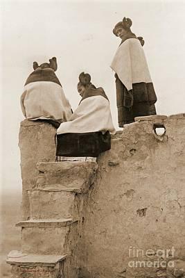 3 Hopi Women Poster by Padre Art