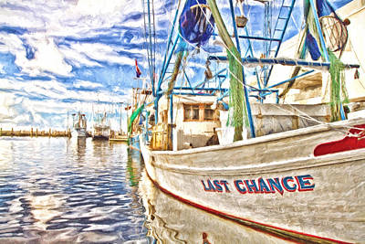 Last Chance Poster by Scott Pellegrin