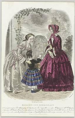 Magasin Des Demoiselles, Poster by Celestial Images
