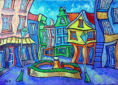 My Town Tczew Poster by Marek Hausmann