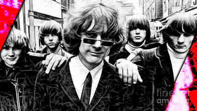 Roger Mcguinn The Byrds Collection Poster by Marvin Blaine