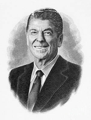 Ronald Reagan (1911-2004) Poster by Granger