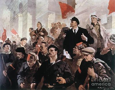 Vladimir Lenin (1870-1924) Poster by Granger