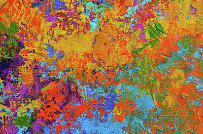 Abstract Painting Modern Art Contemporary Design Poster by Patricia Awapara