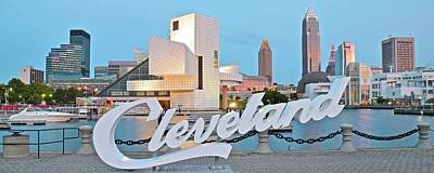 Cleveland Ohio Poster by Frozen in Time Fine Art Photography