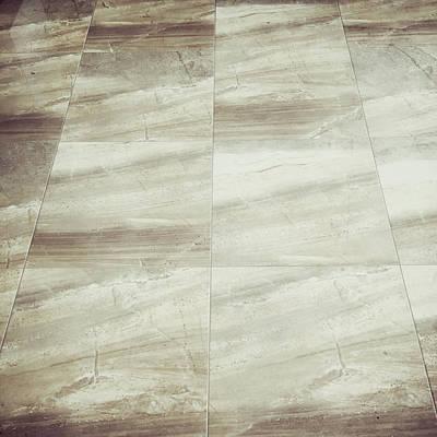 Floor Tiles Poster by Tom Gowanlock