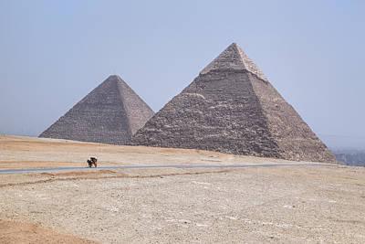 Great Pyramids Of Giza - Egypt Poster by Joana Kruse