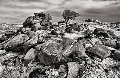 Holwell Tor On Dartmoor Poster by Pete Hemington