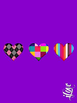 iLove Collection Poster by Marvin Blaine