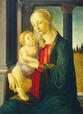 Madonna And Child Poster by Sandro Botticelli