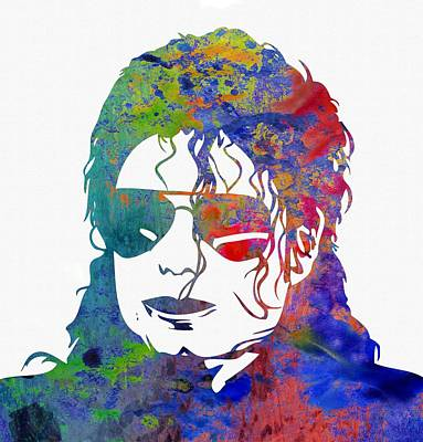 Michael Jackson Poster by Michael Vicin