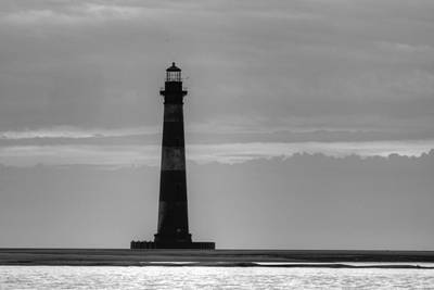 Morris Island Lighthouse Poster by Dustin K Ryan
