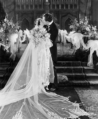 Silent Film Still: Wedding Poster by Granger