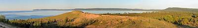 Sleeping Bear Dunes Panorama Poster by Twenty Two North Photography