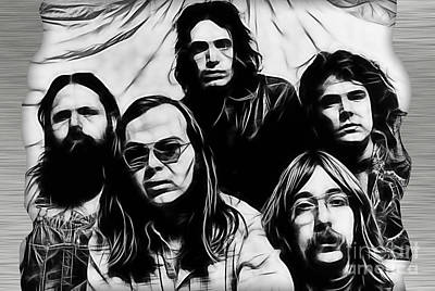 Steely Dan Collection Poster by Marvin Blaine