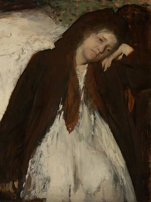 The Convalescent Poster by Edgar Degas