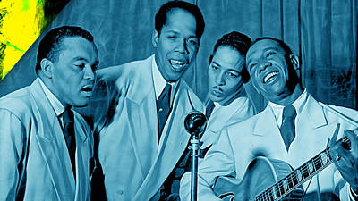 The Ink Spots Collection Poster by Marvin Blaine