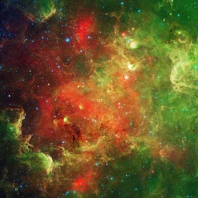 The North America Nebula Poster by American School