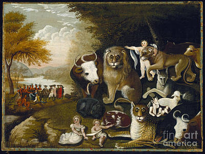 The Peaceable Kingdom Poster by Celestial Images